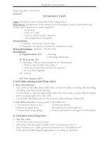 Giáo án tiếng anh lớp 6 thí điểm theo chương trình mới (3)