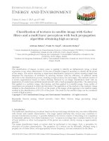 Classification of textures in satellite image with gabor filters and a multi layer perceptron with back propagation algorithm obtaining high accuracy