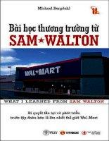 Bài học thương trường từ SamWalton