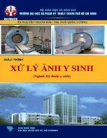 Giáo trình xử lý ảnh y sinh (ngành kỹ thuật y sinh)