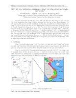 MỘT số đặc điểm địa CHẤT, địa mạo và xói lở bờ BIỂN đảo PHÚ QUỐC