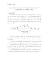SKKN KINH NGHIỆM KHAI THÁC tốt KÊNH HÌNH TRONG GIẢNG dạy môn LỊCH sử lớp 8 bậc THCS