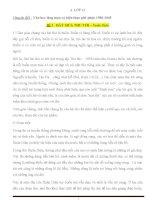 Tài liệu ôn thi đại học ngữ văn tập 1