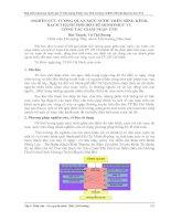 NGHIÊN cứu TƯƠNG QUAN mực nước TRÊN SÔNG KÊNH, RẠCH THÀNH PHỐ hồ CHÍ MINH PHỤC vụ CÔNG tác GIẢM NGẬP ÚNG