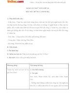 Giáo án ngữ văn 12 tuần 22 bài bắt sấu rừng u minh hạ