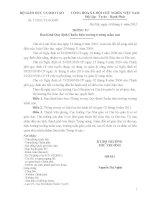 THÔNG TƯ Ban hành Quy định Chuẩn hiệu trưởng trườngmầm non