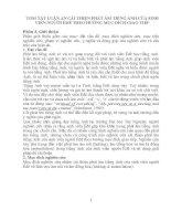 TÓM TẮT LUẬN ÁN CẢI THIỆN PHÁT ÂM TIẾNG ANH CỦA SINH VIÊN NGƯỜI ÊĐÊ THEO HƯỚNG MỤC ĐÍCH GIAO TIẾP
