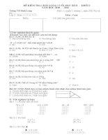 đề thi cuối học kì 2 lớp 2 ( Toán + Tiếng việt)