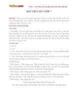 Bài văn mẫu lớp 7 số 5 văn lập luận chứng minh