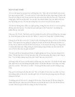 Những bài văn hay kể về người thân yêu