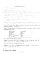 tổng hợp đề thi tín dụng ngân hàng