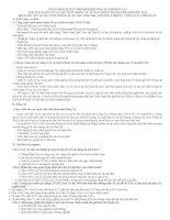 Nội dung chính sử 9   có bài tập trắc nghiệm sử 9