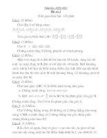 30 đề thi HSG toán 7 có đáp án