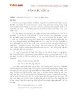 Văn mẫu lớp 11 cảm nhận về bài thơ vội vàng của xuân diệu