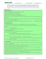 Vật lý 12 : CÁC LOẠI DAO ĐỘNG CỘNG HƯỞNG