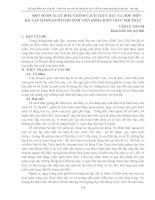 MỘT số  đề XUẤT điều CHỈNH CÁCH THỨC dạy và học môn bài tập cơ sở DÀNH CHO SINH VIÊN KHOA KIẾN TRÚC nội THẤT
