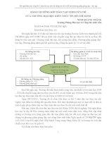 BÁO cáo TỔNG kết đào tạo THEO tín CHỈ của TRƯỜNG đại học KIẾN TRÚC TP  hồ CHÍ MINH