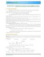 10 BÍ QUYẾT CHINH PHỤC PHƯƠNG PHÁP GIẢI TOÁN CHỦ CHỐT MÔN HÓA HỌC (Phần 2)