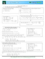 Chuyên đề Giao Thoa Sóng Cơ  Luyện thi đại học môn Vật lý