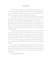 Báo cáo thực tập tổng hợp tại Vụ Kết Cấu Hạ Tầng và Đô Thị thuộc Bộ Kế Hoạch  Đầu Tư