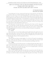 HỢP tác GIÁO dục với các DOANH NGHIỆP CHUYÊN NGÀNH ở KHOA KIẾN TRÚC nội THẤT THUỘC TRƯỜNG đại học KIẾN TRÚC TP HCM