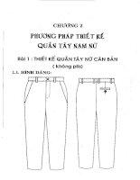 Giáo trình môn học Thiết kế trang phục 2: Phần 2 TS. Võ Phước Tấn (ĐH Công nghiệp TP.HCM)