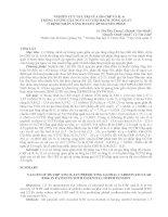 NGHIÊN cứu GIÁ TRỊ  của HS CRP và IL 6  TRONG  LƯỢNG gía  NGUY  cơ  TIM MẠCH TỔNG QUÁT ở BỆNH NHÂN  TĂNG HUYẾT áp NGUYÊN PHÁT