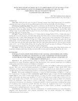 BƯỚC  đầu   ĐÁNH gía   HIỆU QUẢ của PHỐI hợp  gây  mê XƯƠNG  CÙNG BẰNG BUPIVACAINE và MORPHINE SULPHATE với gây mê TRÊN PHẪU THUẬT TIM hở ở TRẺ EM tại BÊNH VIÊN NHI  ĐỒNG 1