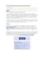 Tự tay thiết kế website miễn phí.