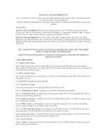 Quy chuẩn kỹ thuật quốc gia về khảo nghiệm tính khác biệt, tính đồng nhất và tính ổn định của giống mía