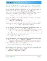 Phần 2 Tuyển tập 35 công thức giải nhanh bài tập Hóa hữu cơ, vô cơ  Megabook.vn