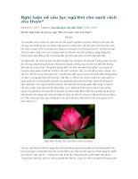 Nghị luận về câu tục ngữ đói cho sạch rách cho thơm