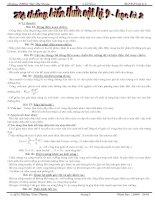 Hệ thống kiến thức vật lí 9 học kì II