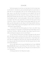 THỰC TRẠNG VÀ PHƯƠNG HƯỚNG HOẠT ĐỘNG SẢN XUẤT KINH DOANH CỦA CỦA CÔNG TY CỔ PHẦN THĂNG LONG