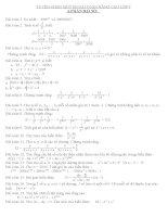Tuyển chọn một số bài toán nâng cao 7