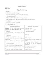 Giáo án tiếng việt 3 tuần 6 bài tập đọc   ngày khai trường