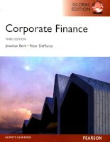 Corporate finance third edition a