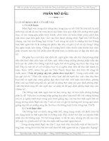Một vài ý kiến về phương pháp dạy thơ Thất ngôn bát cú Đường luật (qua bài