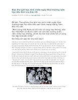 Bức thư gửi học sinh nhân ngày khai trường năm học đầu tiên của bác hồ