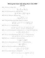 100 Bài toán bất đẳng thức có lời giải chi tiết