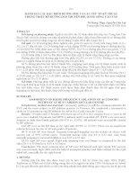 ĐÁNH GIÁ các đặc điểm ĐƯỜNG PHỤ và các yếu tố kỹ THUẬT TRONG TRIỆT bỏ ĐƯỜNG dẫn TRUYỀN THỤ BẰNG SÓNG CAO tần