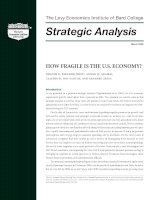 How fragile is the US economy
