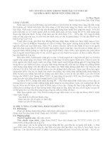 YẾU tố TIÊN  LƯỢNG TRONG NHỒI máu cơ TIM cấp tại KHOA HSCC BỆNH VIỆN NINH THUẬN