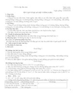 Giáo án hình 12 toàn tập