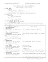 KẾ HOẠCH HƯỚNG dẫn học TOÁN 4 TUẦN 12 18