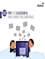 10 tips for successful email marketing