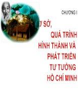 Bài giảng Tư tưởng Hồ Chí Minh: Chương 1  GV. Hải Ngọc (ĐH Kinh tế TP.HCM)