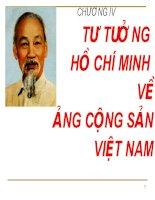 Bài giảng Tư tưởng Hồ Chí Minh: Chương 4  GV. Hải Ngọc (ĐH Kinh tế TP.HCM)