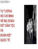 Bài giảng Tư tưởng Hồ Chí Minh: Chương 5  GV. Hải Ngọc (ĐH Kinh tế TP.HCM)