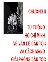 Bài giảng Tư tưởng Hồ Chí Minh: Chương 2  GV. Hải Ngọc (ĐH Kinh tế TP.HCM)